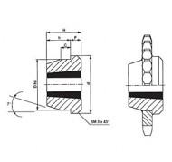 Piasta pośrednia TAPER LOCK 1210